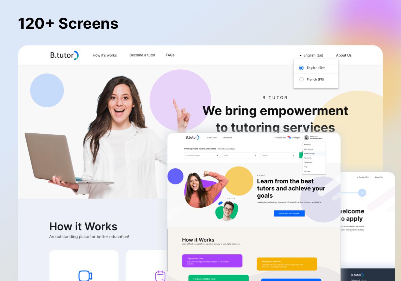 Tutoring Website Design